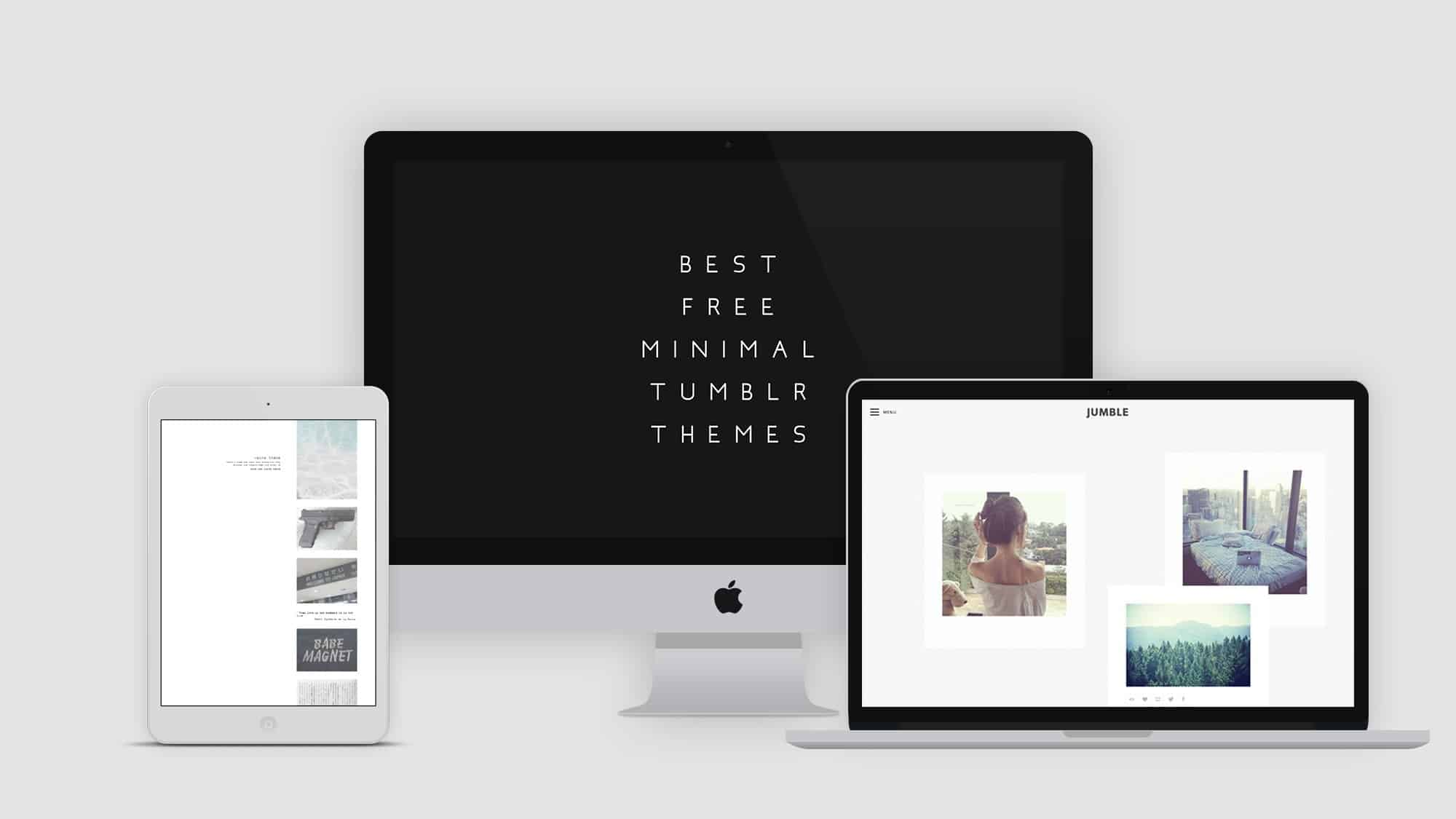 Minimalist Tumblr Themes