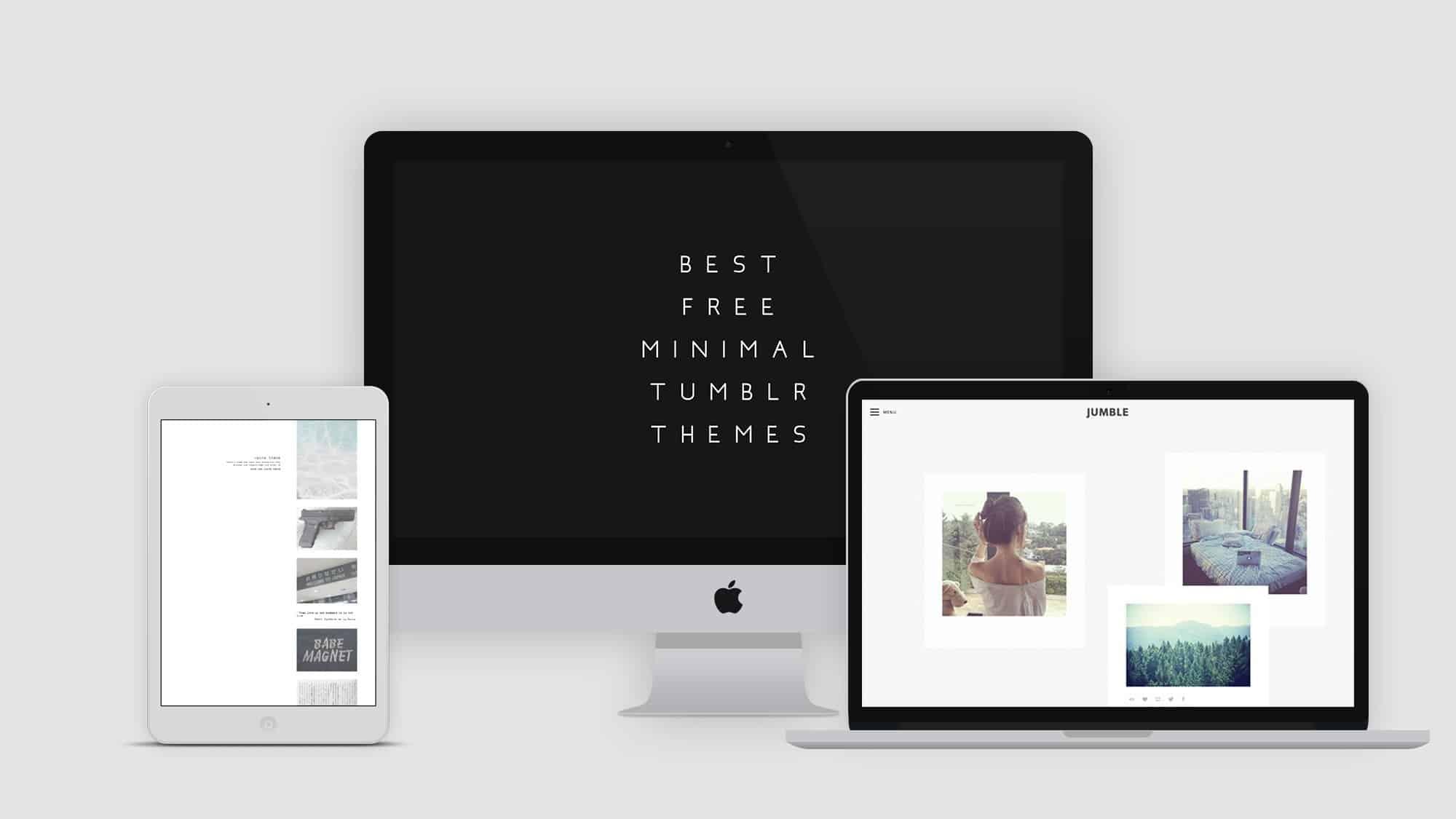 Minimalist Tumblr Themes