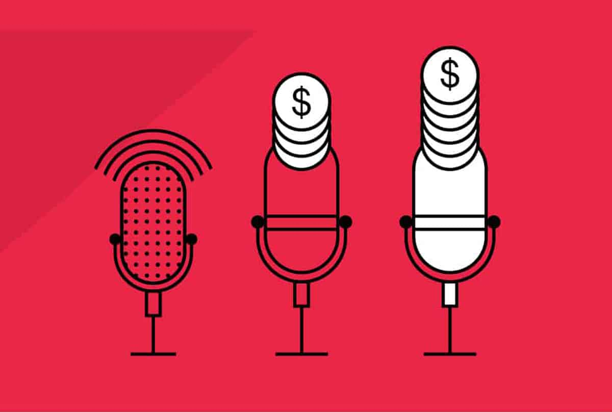 how to make money from podcast