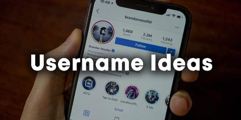 cool username ideas
